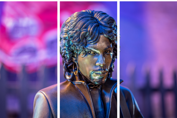 Prince Statue Stare - Acrylic Panel Art | William Drew Photography