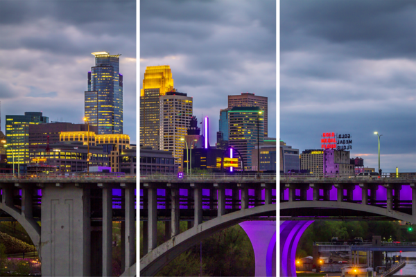 Minneapolis Prince   Acrylic Panel Art Photography Art | William Drew Photography