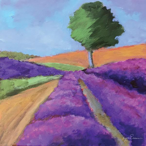 Provence Lavender Art | lynnericson-fine-art.com