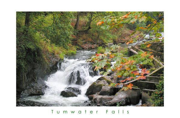 Tumwater Falls Photography Art | Lion's Gate Photography