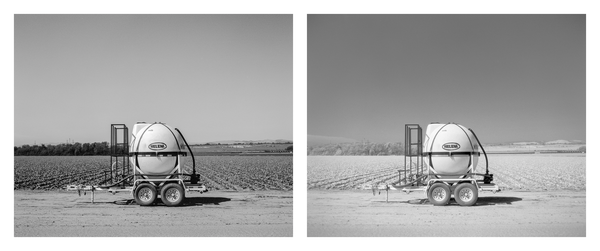 California Landscape Photography-Irrigation Pod Series-Diptych Art