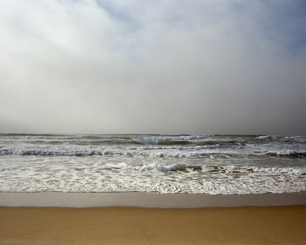 Surf And Fog Bank Photography Art | Julian Whatley Photography