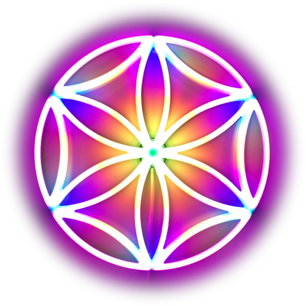 The Flower Of Life (Single Seed) Art | PhotonicBliss