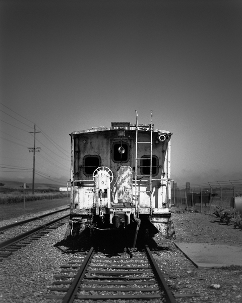 Derelict Rail Carriage   Lompoc Photography Art | Julian Whatley Photography