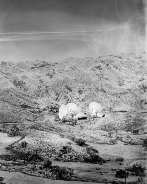 California Landscape Film Photography - Satellite Dish Array