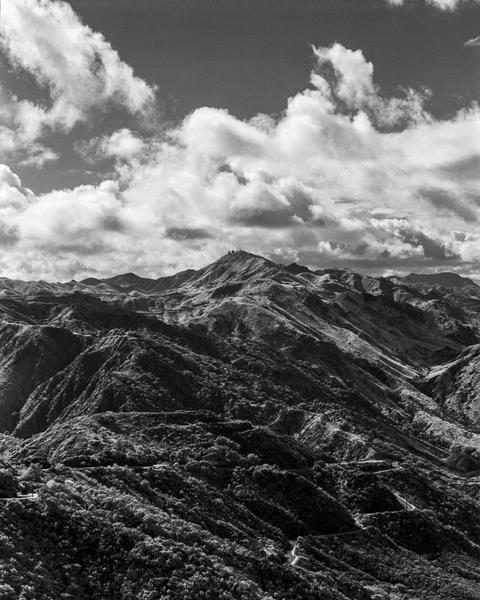 California Landscape Photography - Dramatic View Malibu Mountains