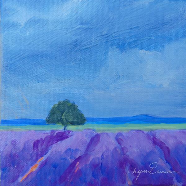Cobalt & Lavender Art | lynnericson-fine-art.com