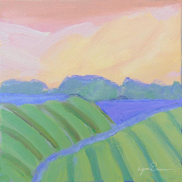 Peachy Green Art | lynnericson-fine-art.com