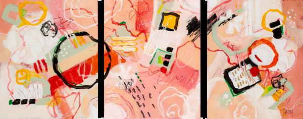 Motivation (3 Panels) Art | Terrie Haley Artist