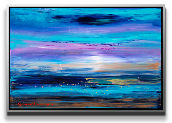 "Simon Bull Available Original Painting - ""Sparkling Sea"""