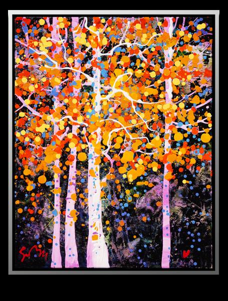 Shimmering Leaves *New* Art | MEUSE Gallery