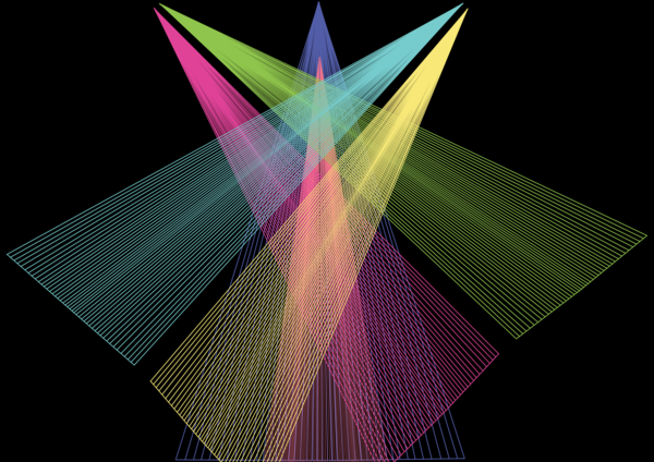 Spotlight Vortex  Art | Caroline Geys Design Studio