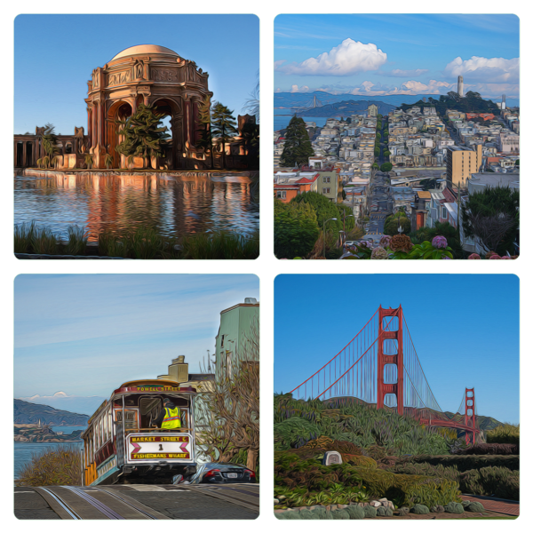 Impressions Of The City Coasters Photography Art   Greg Starnes Phtography