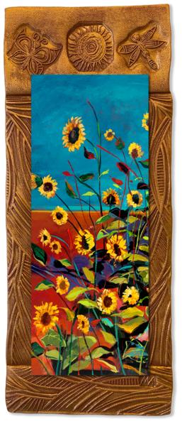 Wild Sunflowers I   V/Countryside Collection Art | KenarovART Inc