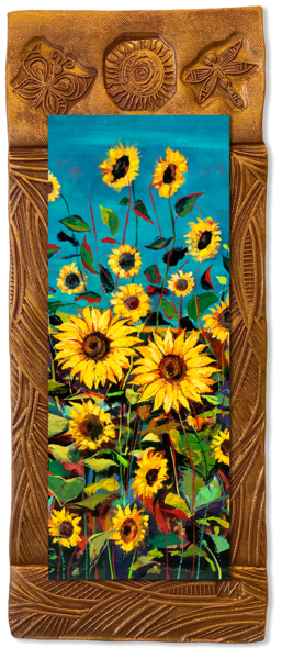 Wild Sunflowers Ii   V/Countryside Collection Art | KenarovART Inc