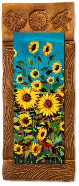 Wild Sunflowers Ii   V/Countryside Collection Art | KenarovART Inc
