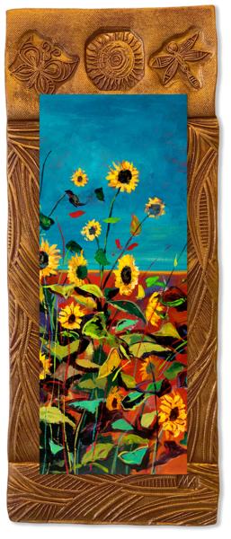 Wild Sunflowers Iii   V/Countryside Collection Art | KenarovART Inc