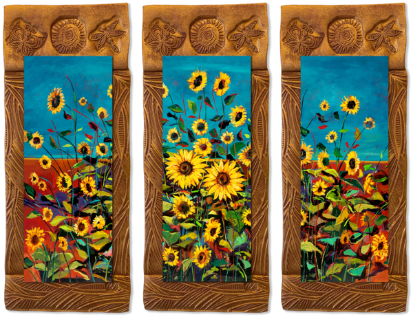 Wild Sunflowers   T/Countryside Collection Art | KenarovART Inc