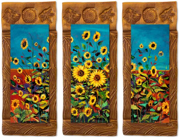 Wild Sunflowers   T/Countryside Collection Art | KenarovART Inc