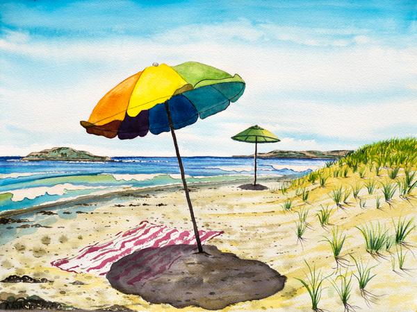 Popham Beach Art for Sale