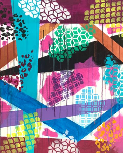 The 90's Art | Courtney Einhorn