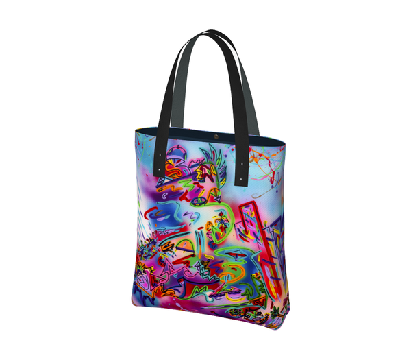 City In Bloom | Urban Tote Bag
