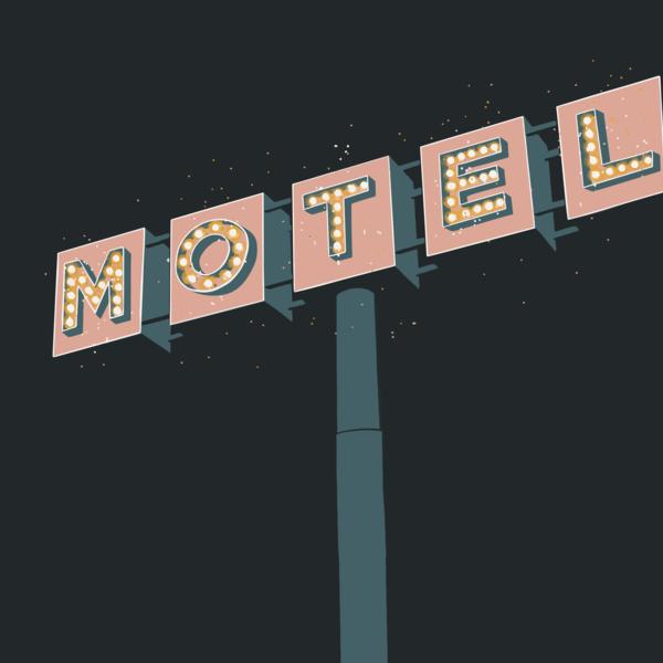 Motel Sign 1 Art   Davida Fernandez Studio