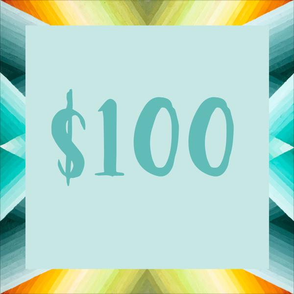 $100 Gift Card | Mindbender Art