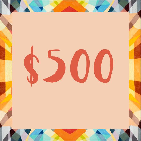 $500 Gift Card | Mindbender Art