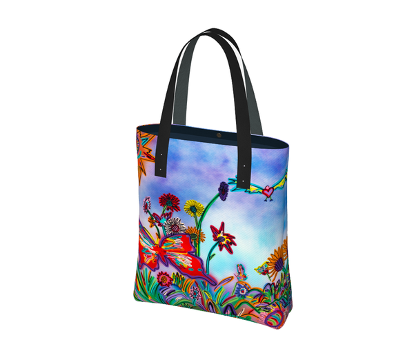 A Red Butterfly | Urban Tote Bag