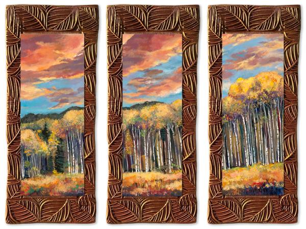 Sunset Aspens   T/Aspens Collection Art | KenarovART Inc