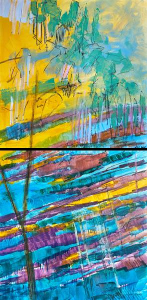 Coming To The River Iii Art | Dorothy Fagan Joy's Garden