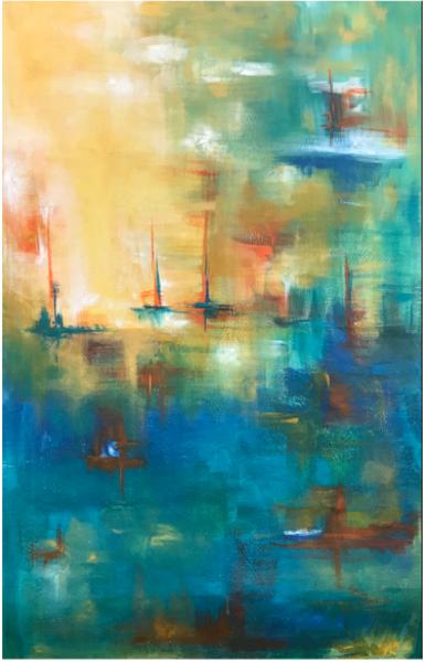 Sailing In The Mist Art | Ralwins