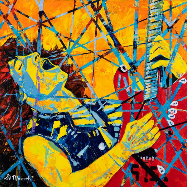 Frankenstrat, Eddie Van Halen