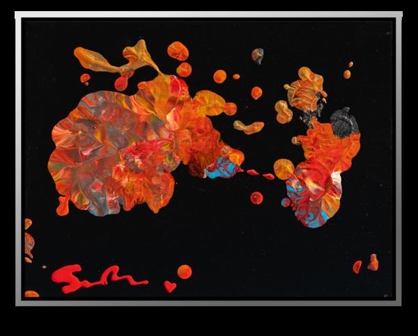 "Simon Bull Available Original Painting - ""Embers"""