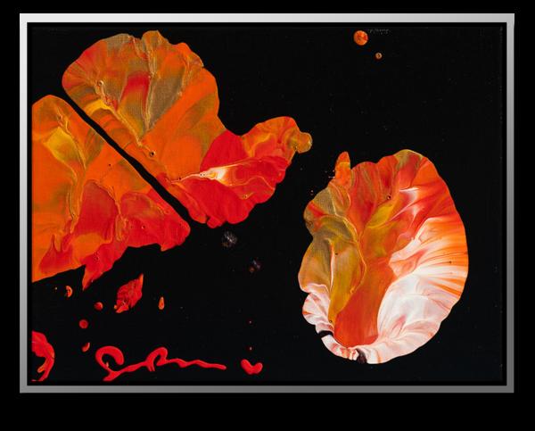 "Simon Bull Available Original Painting - ""Falling"""