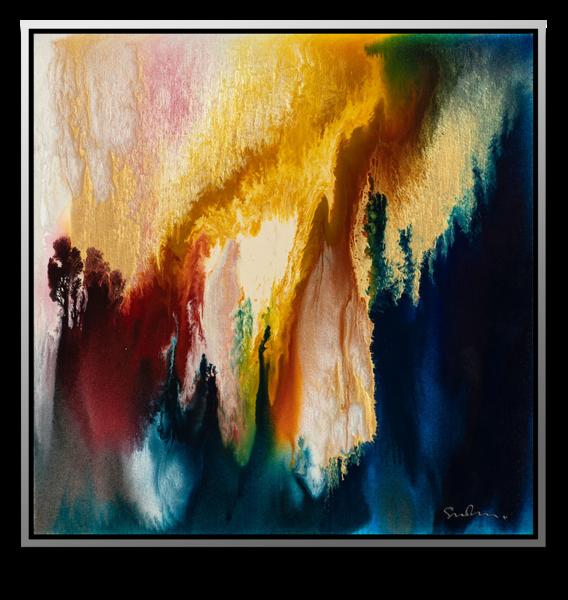 "Simon Bull Available Original Painting - ""Everlasting Hills"""