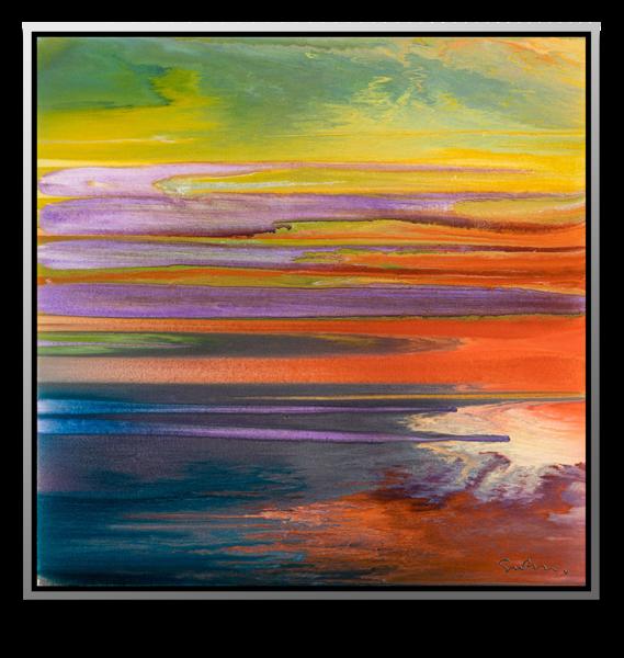 "Simon Bull Available Original Painting - ""Signs + Seasons"""
