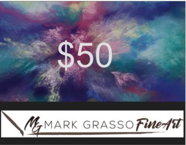 $50 Gift Card | Mark Grasso Fine Art