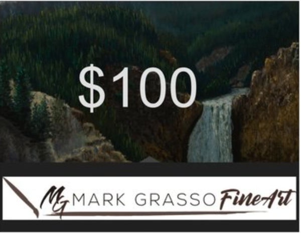 $100 Gift Card | Mark Grasso Fine Art