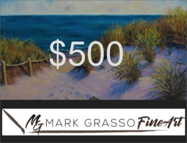 $500 Gift Card | Mark Grasso Fine Art