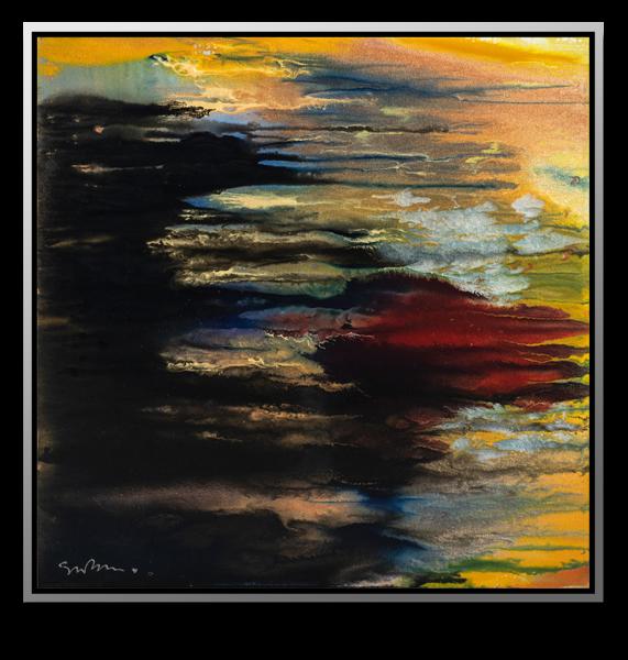 """Simon Bull Available Original Painting - """"Mirror"""""""
