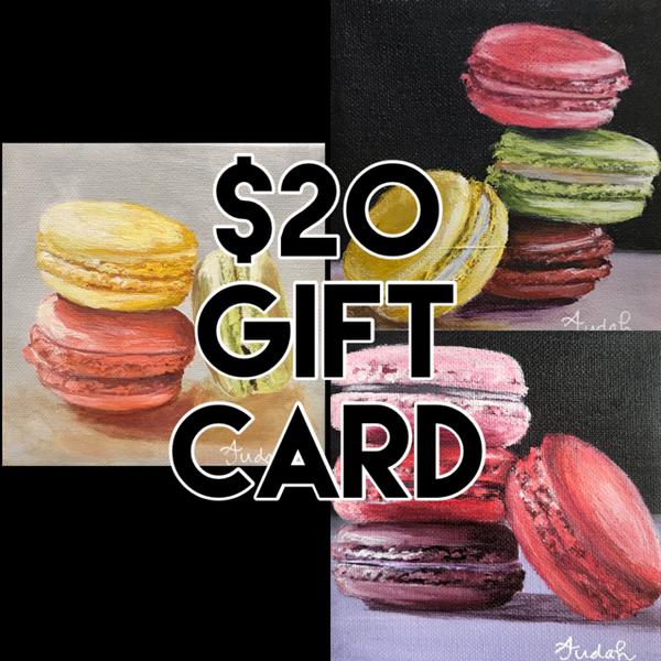 $20 Gift Card | alanajudahart