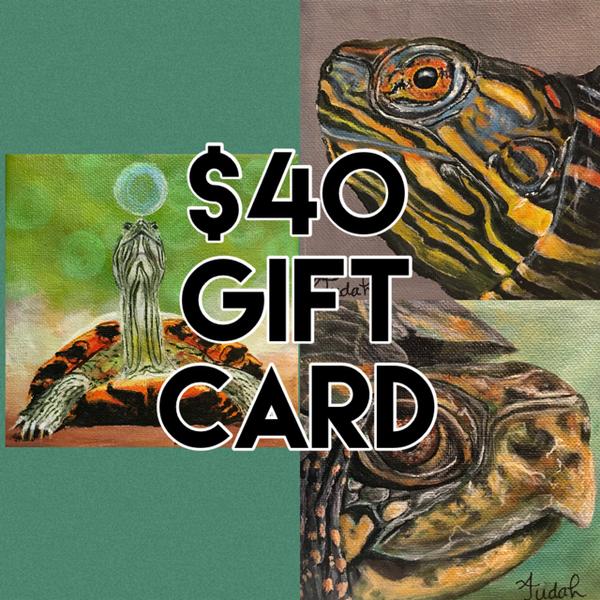 $40 Gift Card | alanajudahart