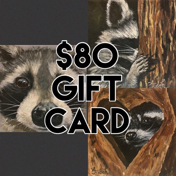 $80 Gift Card | alanajudahart