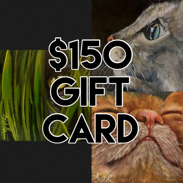 $150 Gift Card | alanajudahart