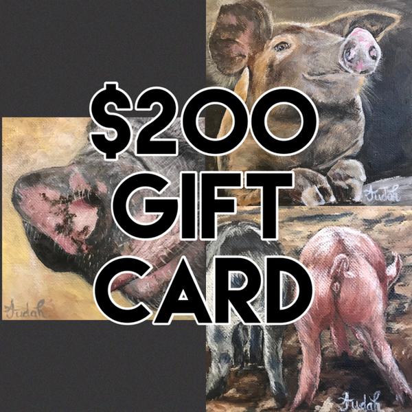 $200 Gift Card | alanajudahart