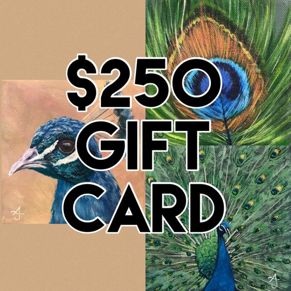 $250 Gift Card | alanajudahart