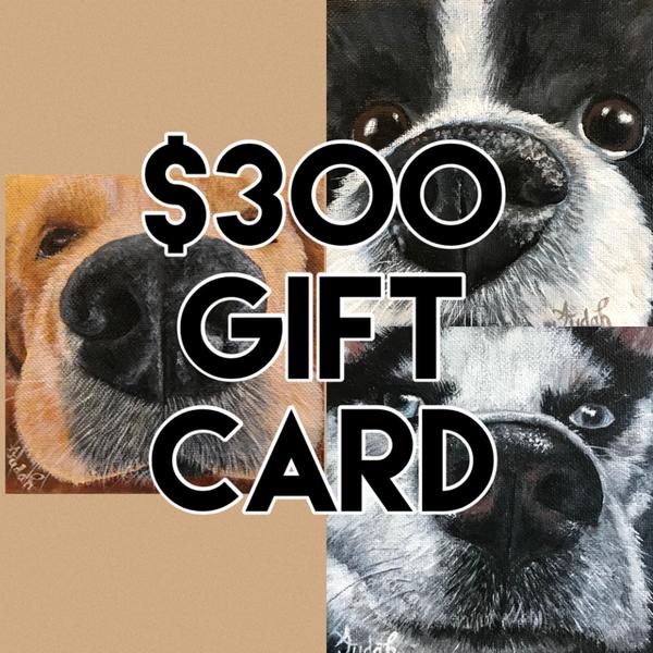 $300 Gift Card | alanajudahart