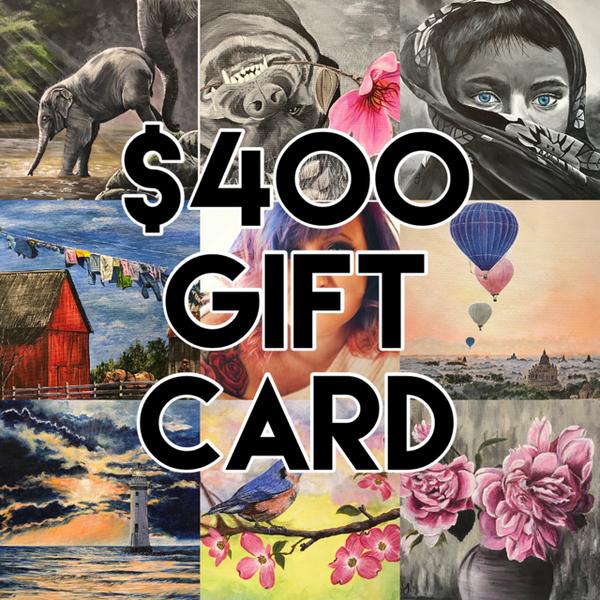 $400 Gift Card | alanajudahart